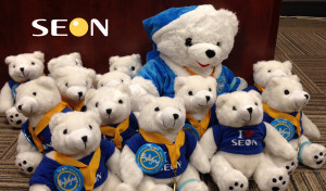 Seon's coloring contest bears!