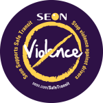 Seon Stop Violence Against Drivers Button