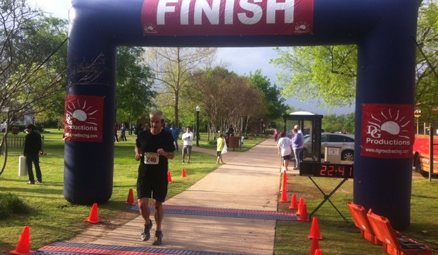 Seon, Mike Bismeyer participates in Cody's Run