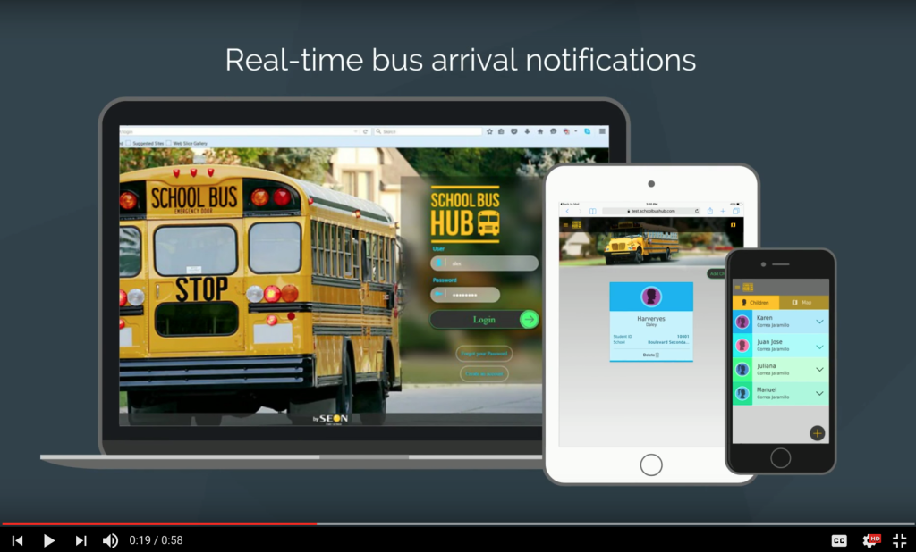 School Bus Hub, Seon