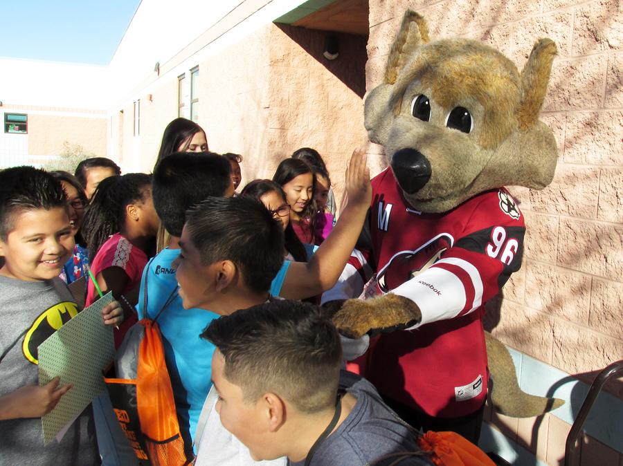 Glendale Elementary Mascot