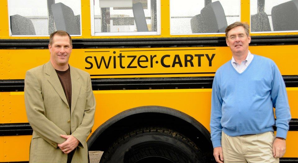 Jim Switzer and Doug Carty