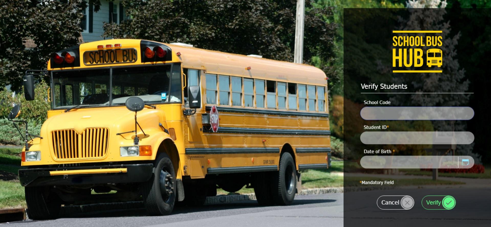 School Bus Hub Portal