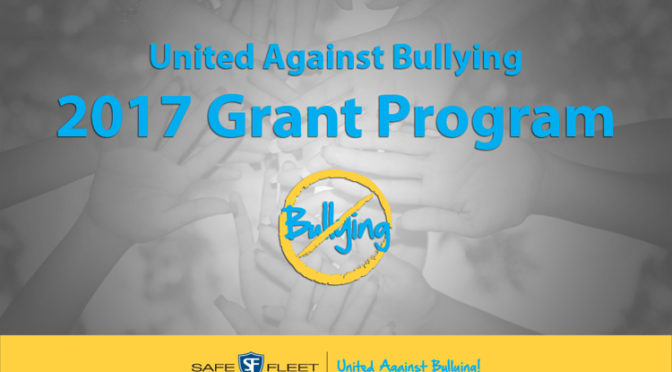 Sharpen Your Pencils – the Annual United Against Bullying Grant Is Coming