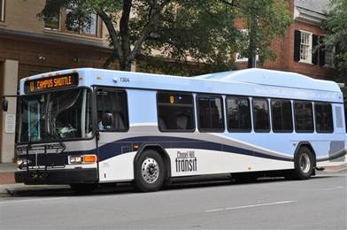 Transit Bus Fixed Route - Chapel Hill